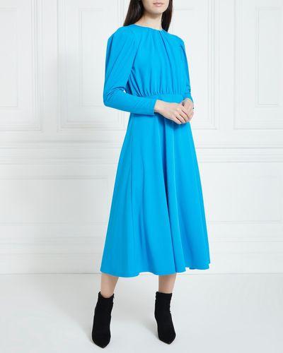 Gallery Gather Neck Dress