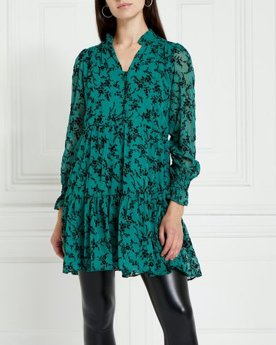 Gallery Ruby Flocked Tunic