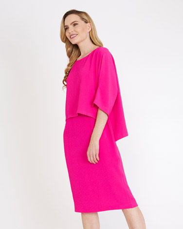 pinkGallery High-Low Overlay Dress