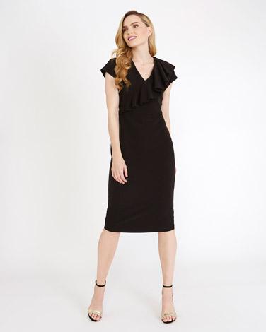 blackGallery Ruffle Dress