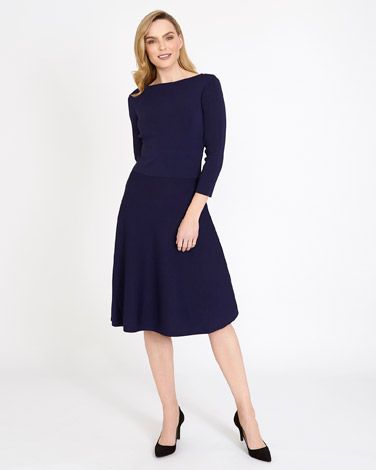 indigoGallery Fit And Flare Dress