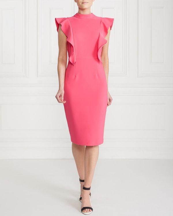 Gallery Elegant Ruffle Dress