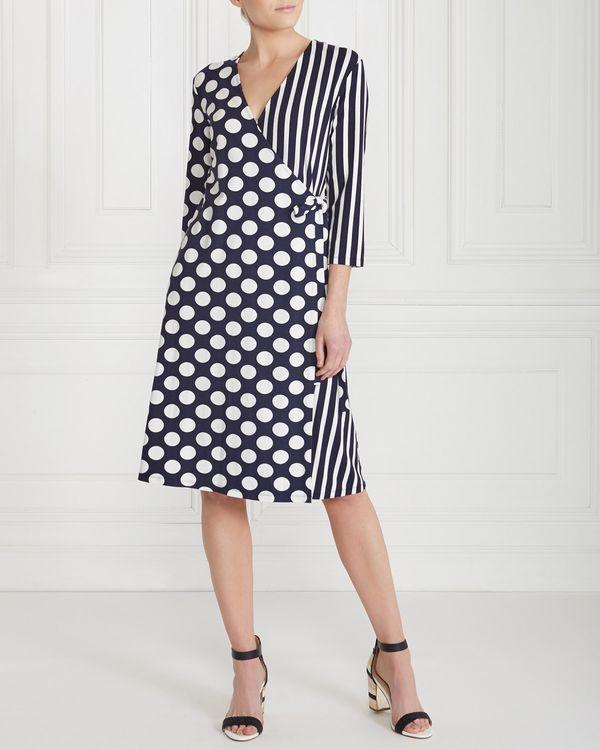 Gallery Polka Stripe Dress
