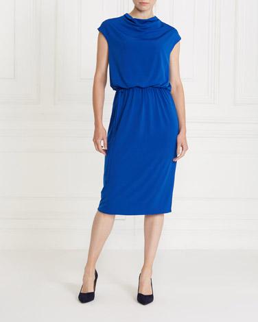 cobaltGallery Cowl Dress