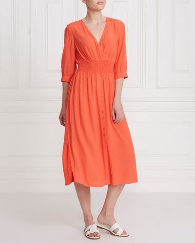 Gallery Button Dress
