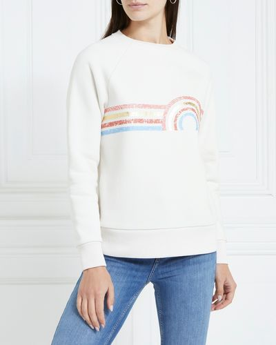 Gallery Amber Print Sweater