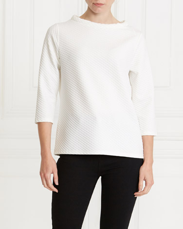 Gallery Tube Jacquard Top