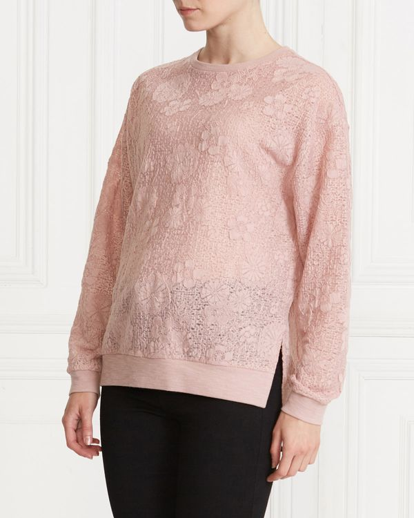 Gallery Lace Sweater