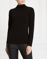 black Gallery Turtle Neck Top