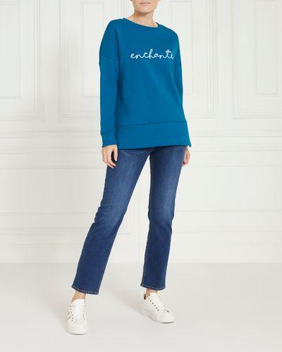 Gallery Slogan Sweater