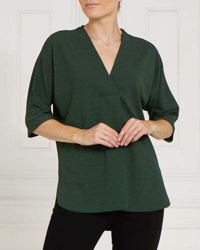 Gallery Texture V-Neck Top