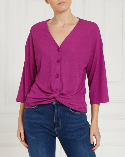 Gallery Button Knot Front Top