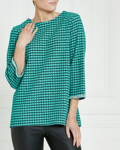 Gallery Jacquard Top