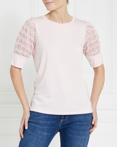 Gallery Lace Sleeve Top