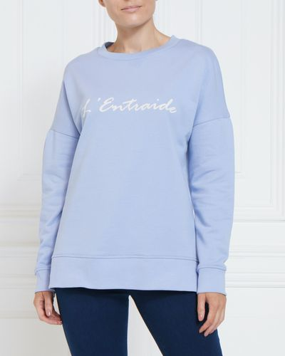 Gallery Flocked Sweater