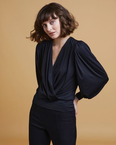 Gallery Luna Wrap-Over Top