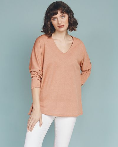 Gallery V-Neck Batwing Top