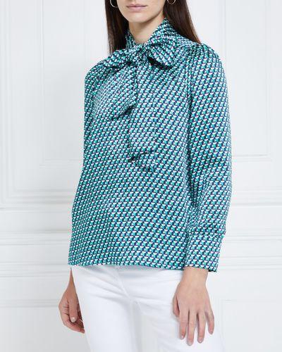 Gallery Merida Tie Blouse