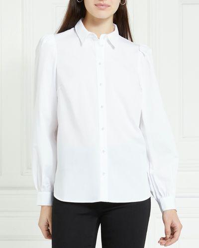 Gallery Poplin Pearl Button Shirt