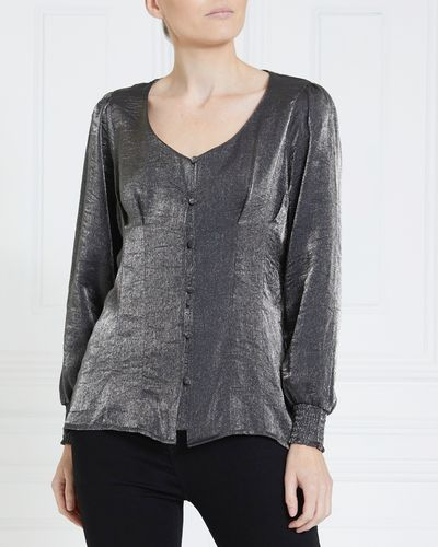 Gallery Metallic Blouse