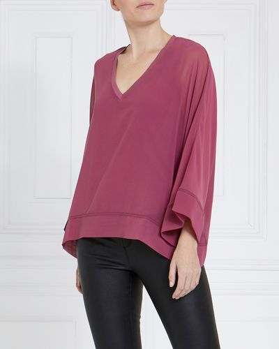 Gallery Chiffon V-Neck Top thumbnail
