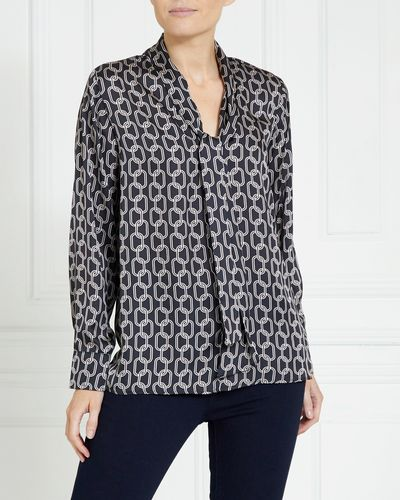 Gallery Chain Print Blouse