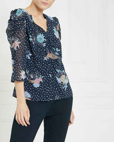 Gallery Dobby Blouse