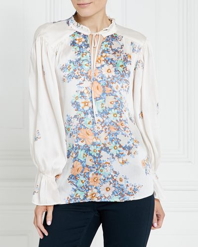 Gallery Floral Neck Top