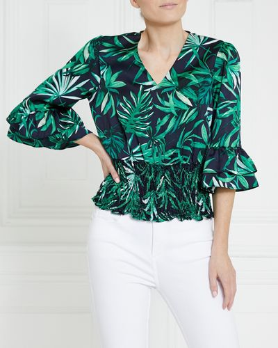 Gallery Shirred Top