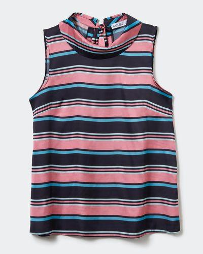 Gallery Stripe Tie Top