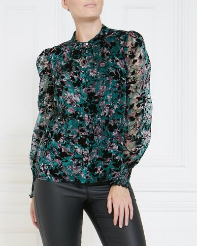 Gallery Flocked Blouse thumbnail