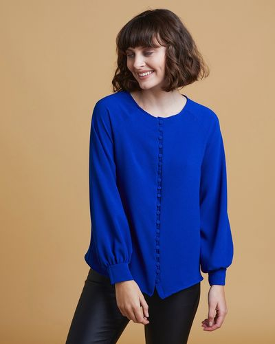 Gallery Luna Button Top