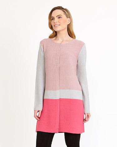 pinkGallery Colour Block Cardigan