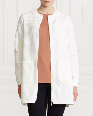 ivory Gallery Unlined Cardigan