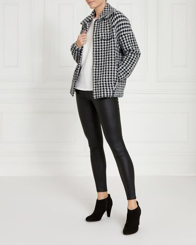 Gallery Houndstooth Cardigan