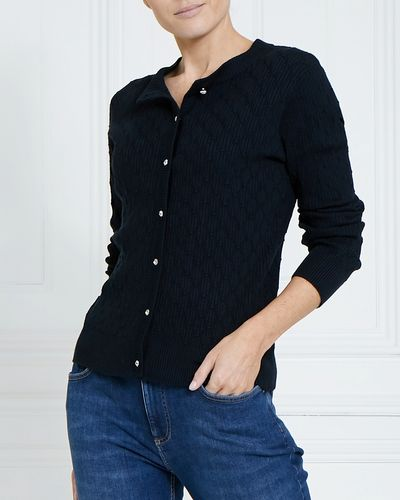 Gallery Pointelle Cardigan