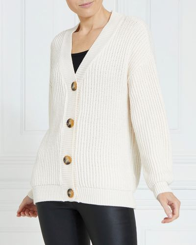 Gallery Chunky Cropped Cardigan