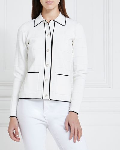Gallery Pearl Button Cardigan