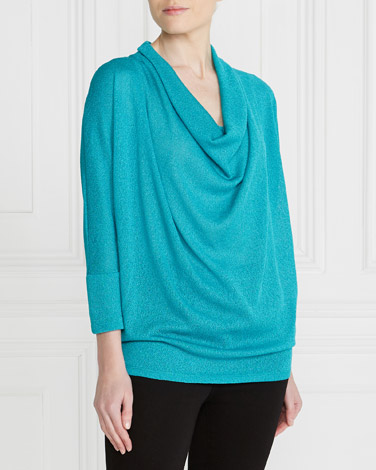 Gallery Cowl Neck Knit