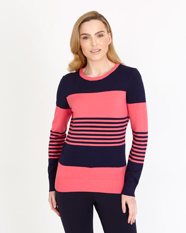 Gallery Colour Block Jumper