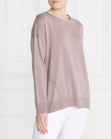 mauve Gallery Pointelle Jumper
