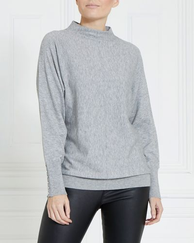 Gallery Button Cuff Jumper