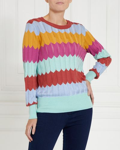 Gallery Pointelle Jumper