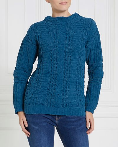 Gallery Chenille Cable Jumper