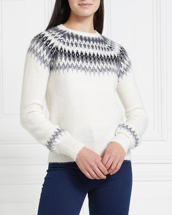 Gallery Mistletoe Fair Isle Jumper