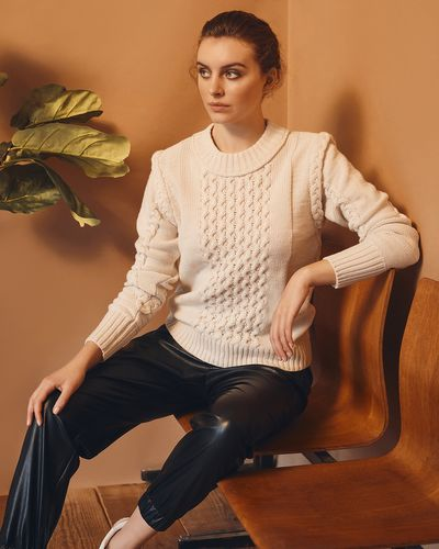 Gallery Amber Cable Jumper
