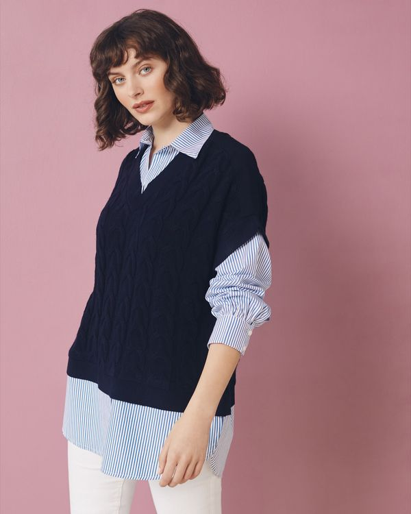 Gallery Hybrid Jumper And Shirt