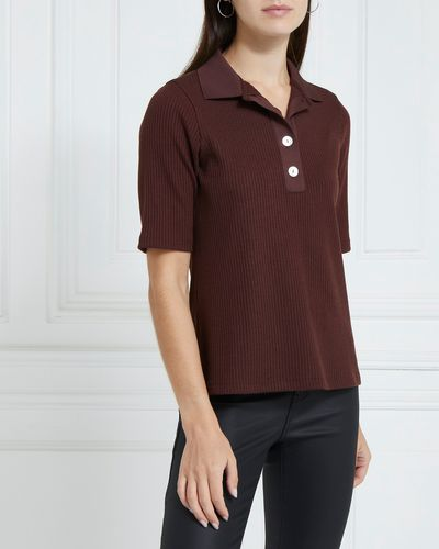 Gallery Ruby Knit Polo