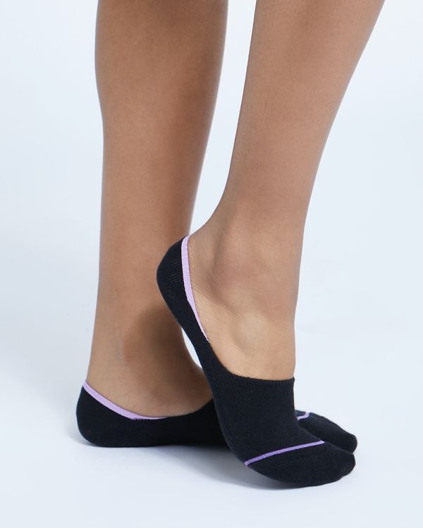 Micro Terry Trainer Socks - Pack Of 3