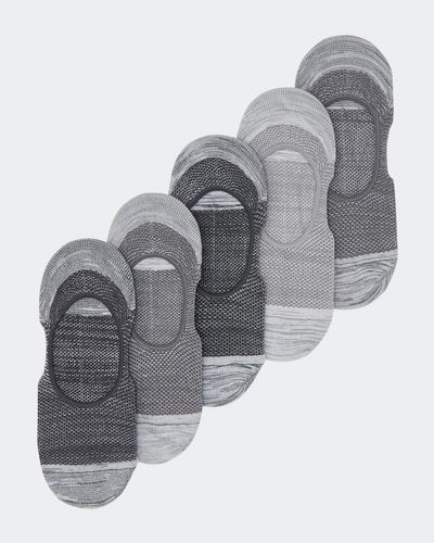 Mesh Liners With Heel Grips - Pack Of 5 thumbnail